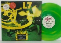 L7 - Bricks Are Heavy LP 1992 Australia Orig Green Vinyl Slash L30780 Nirvana