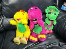 1992 Barney The Dinosaur Hand Puppet Baby Bop 1994 BJ Plush