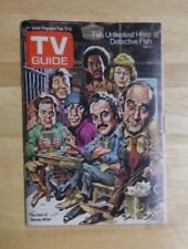 TV Guide Feb 7-13 1976 Barney Miller Cast Cover Maine Edition