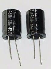 68uF 450 V 105 C condensadores electrolíticos Paquete de 2