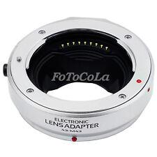 Auto Focus Adapter f Four Thirds lens to Olympus Panasonic Micro 4/3 M43 MMF-1 S