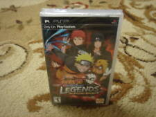 Naruto Shippuden: Legends: Akatsuki Rising psp new