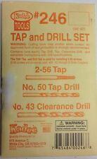 Kadee #246 HO Tap and Drill Set - NIB