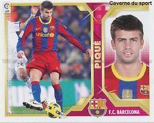 N°06 PIQUE FC.BARCELONA STICKER PANINI CROMO LIGA 2012
