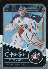 11-12 O-Pee-Chee Steve Mason Black Rainbow /100