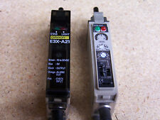Omron E3X-A21 Fiberoptic Photoelectric Sensor