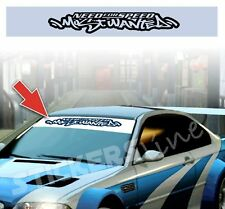 Adesivo FASCIA PARASOLE Need for Speed Most Wanted