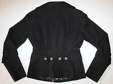 Diesel Women's Black Blazer Style Denim Jacket Size XS EXCELLENT CONDITION