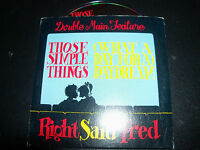 Right Said Fred Those Simple Things / Daydream Australian Card Sleeve CD Single