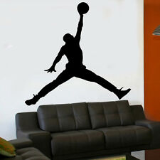 Michael Jordan 18 inch Jumpman Basketball black vinyl wall sticker decal