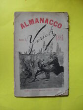 YORICK - ALMANACCO UMORISTICO PER L'ANNO 1884 ANNO I