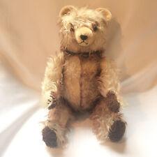 "Vintage Hermann Mohair Teddy Bear Fully Jointed Long Hair 20"" German Made"