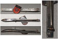 Broschen-Anstecknadel Club-Meister 1936 Düren 99 / Silber 800