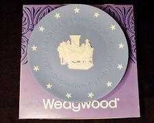 Wedgwood Declaration Signed Blue Jasper Collector Plate Vtg 1976 w/Original Box