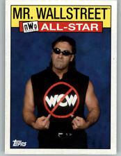 2016 WWE Heritage NWO/WCW All Star #8 Mr Wallstreet