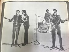 7 Vintage Beatles Scrapbooks 1960's