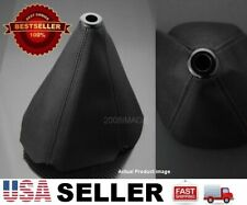 Black PVC 4 Seams Leather Shifter Shift Gear Knob Boot For Toyota !!USA Shipped!