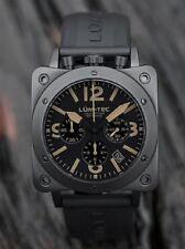 NEW Lum-Tec BULL42 A19 PHANTOM Military Mecha-Quartz Watch w/ WARRANTY
