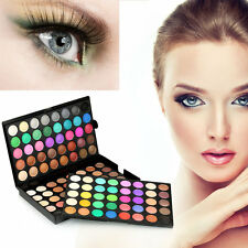 Professional 120 Color Super Light Eye Shadow Palette Cosmetic Makeup Tool GA
