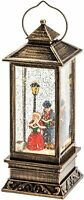 "Konstsmide Christmas Decorations LED Snow Globe Lantern ""Dickensian Scene""..."