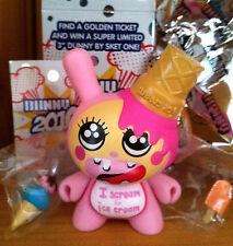 "Kidrobot Dunny 3"" 2010 series Esther Kim I Scream For Ice Cream Toy Figure 1/25"