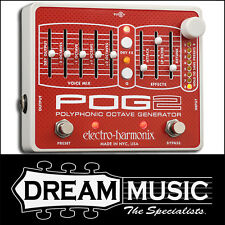 Electro Harmonix EHX POG 2 Polyphonic Octave Generator Effects Pedal RRP$899