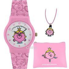 Mr Men Little Miss Princess Pink Watch Purse and Pendant Set LM0001SET