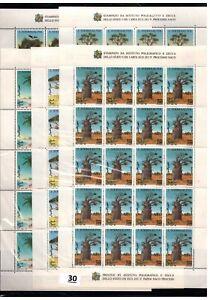 BL 20X SOMALIA - MNH - NATURE - TREES - BAOBAB - BIRDS - 1994