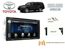 2003-2009 TOYOTA 4-RUNNER CAR STEREO KIT, BLUETOOTH TOUCHSCREEN DVD USB