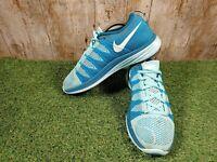 Women's Nike Flyknit Lunar2 Running Gym Fitness Sneakers 620685-414 Size 6.5 UK