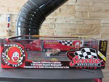 VOITURE MINIATURE MC DONALD S RACING TRUCK ET NASCAR VOITURE 1/64  TBE