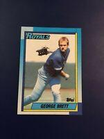 1990 Topps # 60 GEORGE BRETT Kansas City Royals Nice LOOK !