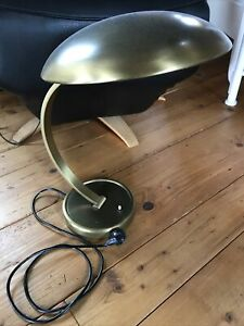 Alte Kaiser Idell Tischlampe Lampe 6751 Messing Table Lamp 50er 50s 60er 60s