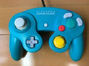 Official Nintendo GameCube Controller Emerald Blue from Japan .
