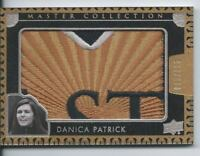 2016 UD All Time Greats Master Collection DANICA PATRICK Logo Patch 015/125