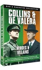 Collins & De Valera Heroes & Villains - DVD & Magazine New Easter Rising 2016