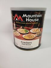 Mountain House #10 Can Freeze Dried Crackers Pilot Bread MRE Food