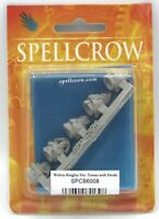 Spellcrow SPCB6008 Wolves Knights Veterans Torsos with Heads (Conversion Bits)