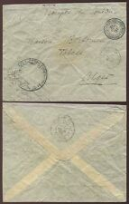 FRENCH SAHARA 1901-02 SOLDIERS MAIL TOMBOUCTOU to ALGERIA CORPS EXPED.CACHET