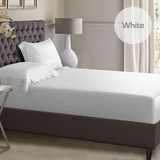 1000TC Silky Satin Single/KS/Double/Queen/King Size Bed Fitted Sheet Pillowcase