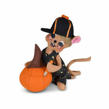 Annalee Dolls 2021 Halloween 6in Pumpkin Carving Mouse Plush New with Tag