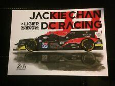 Carte 24 Heures Du Mans 2018 JACKIE CHAN DC Racing #33