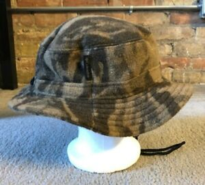 Columbia Camouflage Wool Blend Hunting Bucket Hat - Size L/XL