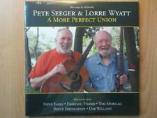 PETE SEEGER & LORRE WYATT 2LP: A MORE PERFECT UNION (UK;2013,NEU;LETV108LP)