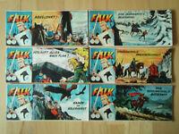 Falk Nr.115, 116, 122, 124, 125, 137  - Konvolut 6 Piccolo-Comichefte Lehning
