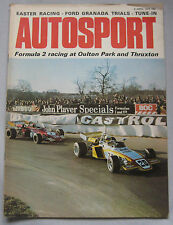 Autosport avril 6th 1972 * Thruxton & Oulton Park F 2 *