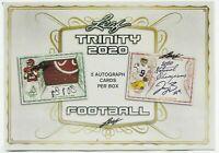 2020 Leaf Trinity NFL 1 Hobby Box Random Team Bonus Break
