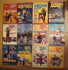 JAMES BOND 007 BOOKSHELF BOARD GAME 1980 13 + VICTORY GAMES LOT GOLDFINGER