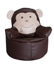 brauner Sitzsack / Bodenkissen / Sitzkissen / Kindersitzsack / Sessel für Kinder