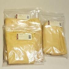 Longaberger Butternut STORAGE SOLUTIONS 3-Basket Liners ~ Brand New in Bags!